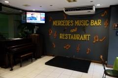 Restaurangen på Rosas Garden Hotel, Ermita, Manila.