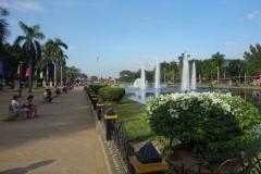 Rizal Park, Manila.