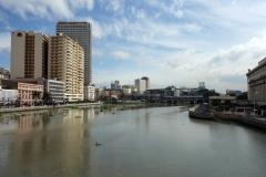 Pasig river, Manila.