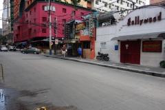 Gatuscen längs Padre Burgos, Makati, Manila.