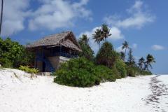 Restaurang längs Matemwe Beach, Unguja,