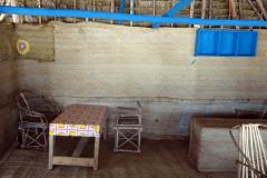 Inredningen i restaurangen, Matemwe Beach, Unguja.
