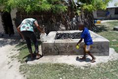 Byns vattenbrunn, Matemwe, Unguja.
