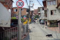 Första mötet med Comuna 13, Medellín.