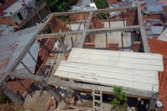 Husbygge, Comuna 13, Medellín.
