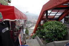 De berömda rulltrapporna, Comuna 13, Medellín.