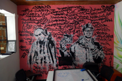 Konst i musikhuset, Comuna 13, Medellín.