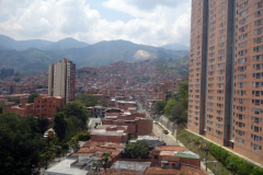 Utsikten från station San Javier, Medellín.