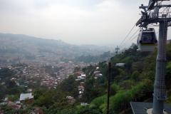 Station Villa Sierra längs linbanelinje Oriente-Villa Sierra (H),  Medellín.