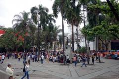 Parque Berrio, Medellín.