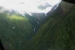 Vy från Summit Air flight SMA401 mellan Katmandu och Lukla.