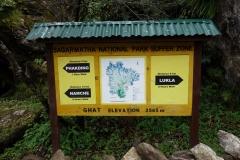 Översiktskarta i byn Ghat.
