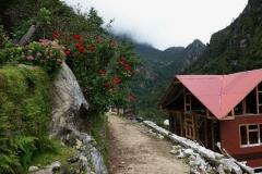 Leden mellan Phakding och Monjo.