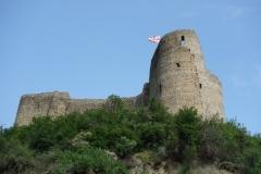Beberi fortress en bit norr om centrala Mtskheta.
