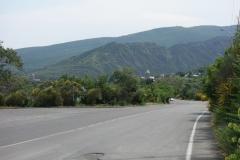 Delar av Mtskheta inom synhåll.