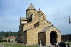 Vackra Svetitskhoveli Cathedral, Mtskheta.
