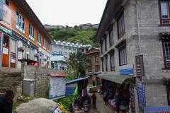 Centrala Namche Bazaar.