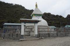 Stupa i Khumjung.