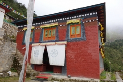 Khunde Chamkang, klostret i Khunde.