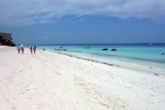 Stranden på den västra sidan av Nungwi, Unguja.