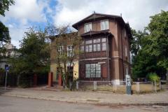 Arkitekturen i Oliwa, Gdańsk.