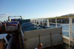 Första stopp i Pilar på ön Ponson, den ostligaste av Camotes tre öar.