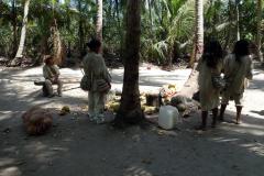 Folkgruppen Kogi, Parque Nacional Natural Tayrona.