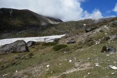 Övre delen av Pheriche-dalen.