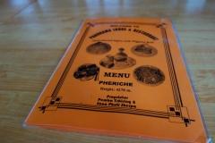 Menyn på Panorama Lodge & Restaurant, Pheriche.
