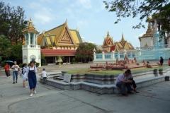 Angkor Wat miniature, Royal Palace, Phnom Penh.