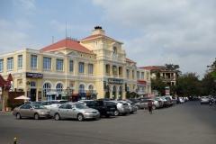 Central Post Office, Phnom Penh. En kolonial fransk pärla byggd i slutet av 1800-talet.