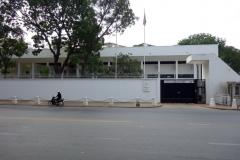 Franska ambassaden i Phnom Penh.