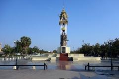 Cambodia-Vietnam Friendship monument, Wat Botum Park, Phnom Penh.