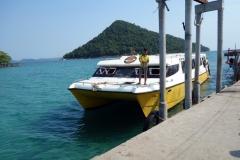 M'Pai Bay pier, Koh Rong Sanloem.