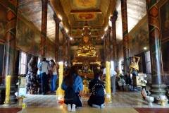Fantastiskt vackra Wat Phnom, Phnom Penh.