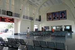 Tågstationen i Phnom Penh.