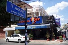 Gatuscen längs Street 143, Phnom Penh.