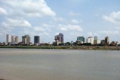 Tonle Sap River, Riverside, Phnom Penh.