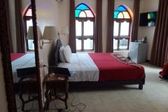 Mitt rum på Tembo House Hotel, Stone Town (Zanzibar Town), Unguja.
