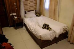Mitt rum på Spice Palace Hotel, Stone Town (Zanzibar Town), Unguja.