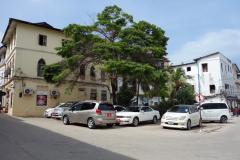Början på Shangani street i Stone Town (Zanzibar Town), Unguja.