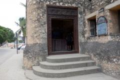 Entrén till Old Fort, Stone Town (Zanzibar Town), Unguja.