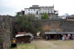 Old Fort med The House Of Wonders i bakgrunden, Stone Town (Zanzibar Town), Unguja.