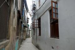 Smal gränd i Stone Town (Zanzibar Town), Unguja.