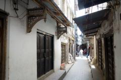 Otroligt charmig gränd i Stone Town (Zanzibar Town), Unguja.