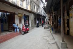 Livet i Stone Town (Zanzibar Town), Unguja.