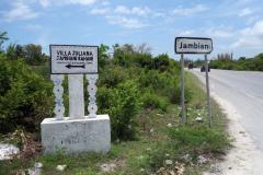 Framme i Jambiani. Tack vare google maps hittade jag en bra plats att be chauffören släppa av mig på.