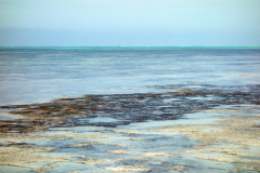 Utsikten från bryggan tillhörande Spice Island Hotel And Resort, Jambiani Beach.