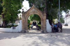 Old Portuguese Arch, Stone Town (Zanzibar Town), Unguja.