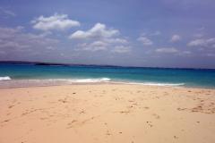 Den finaste stranden på ön, Prison Island.